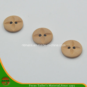 4 Hole New Design Wooden Button (HABN-1618011)