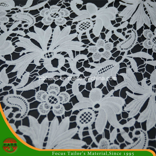 Garment Accessories Woven Cotton Fabric Lace (HX005)