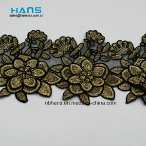 2018 New Design Embroidery Lace on Organza (MLS-1814)