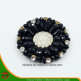 Fashion Acrylic Black Flower (YD-018)