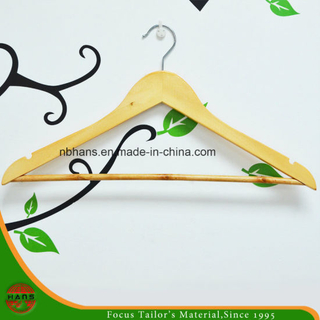 Wholesale of High Quality Natural Wooden Hangers (4312-1#)