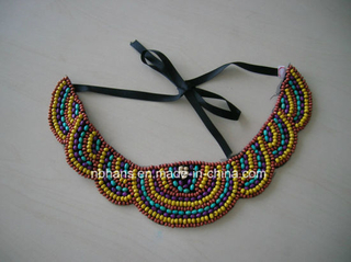 Handmade Beaded Collar (LY-001)