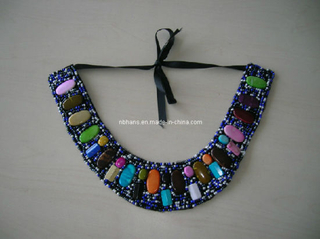 Fashion Beaded Collar (LY-012)