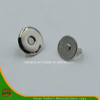 16mm Silver Thin Magnet Button for Handbag (HAWM1650I0007)