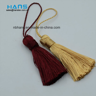 Gold Color Embroidery Thread Tassel