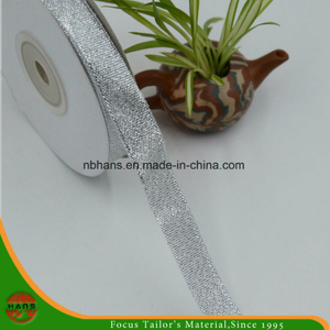 Golden Silver Gift Packaging Ribbon (HANS-86#-116)