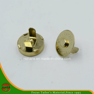 18mm Golden Magnet Button for Handbag (HAWM1650I0005)