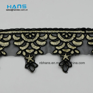 2018 New Design Embroidery Lace on Organza (MLS-1806)