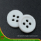 2 Holes New Design Polyester Shirt Button (S-116)