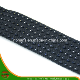 Knitting Elastic Webbing with Sliver Thread (HAKB-001)