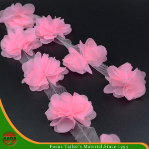 Pink Colors Satin Flowers for Decoration (HSXC-1701)