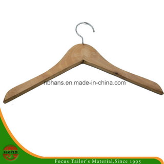 Wholesale of High Quality Natural Wooden Hangers (HAPHW150001)