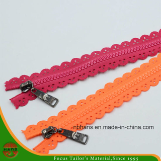 5# Non-Lock Closed-End Plastic Zipper (HAZR0003)