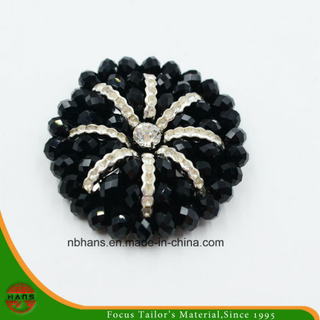 Fashion Acrylic Black Flower (RSD-05)
