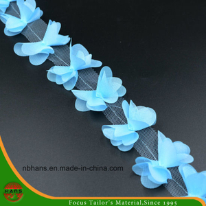Blue Colors Satin Flowers for Decoration (HSXC-1702)