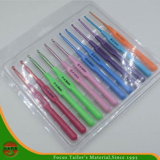 Colorful Knitting Needle Crochet Hook (HANS-86#-112)
