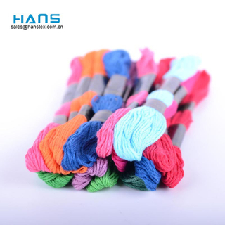 Hans Factory Wholesale Eco Friendly Pearl Cotton Thread