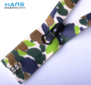 Hans Most Popular and Hot Color Nylon Zipper Waterproof