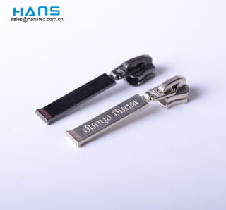 Hans Wholesale High Quality Custom Design Handbag Zipper Pulls