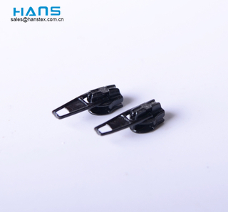 Hans Free Sample Custom Key Locking Zipper Sliders