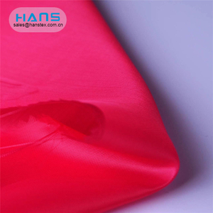 Hans Hot Selling Smooth Waterproof 190t Taffeta Fabric