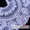 Hans Direct From China Factory Professional Design Embroidered Tulle Lace Fabric