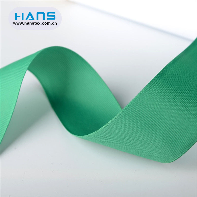 Hans 2019 Hot Sale Solid Color Grosgrain Ribbon