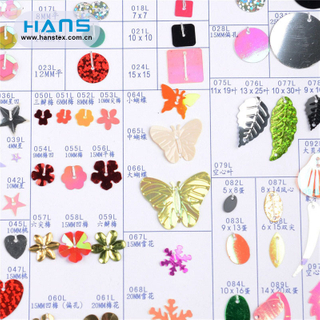 Hans ODM/OEM Design Multi Size White Sequin
