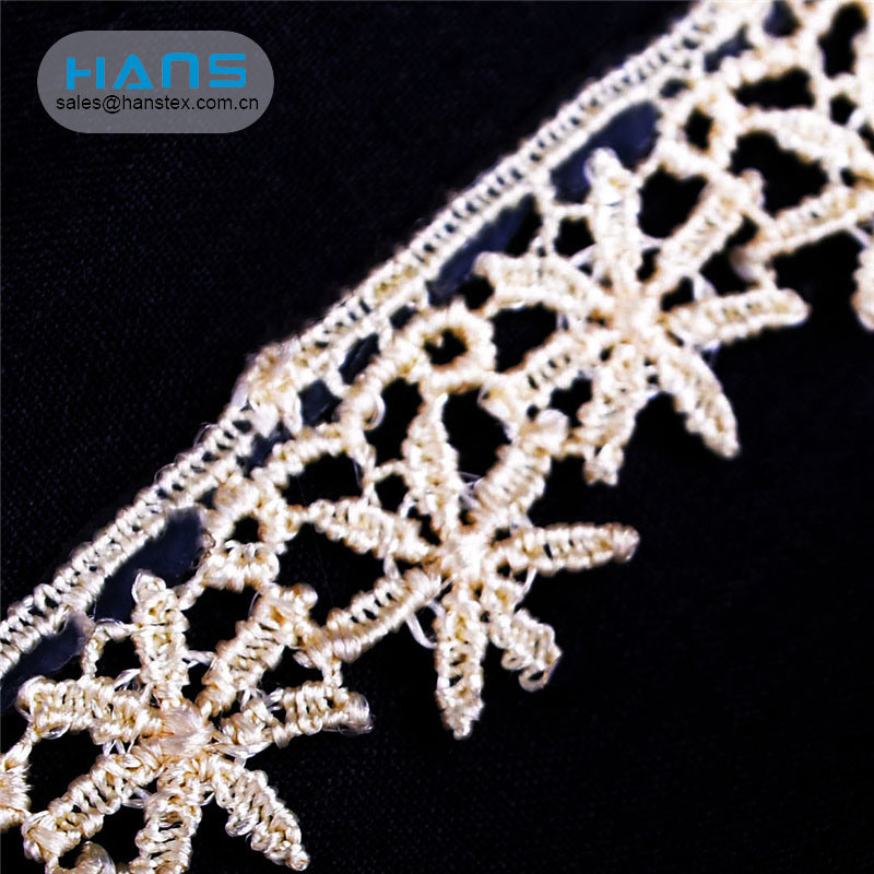 Hans Made in China Latest Arrival Lace Fabric Emerald Green