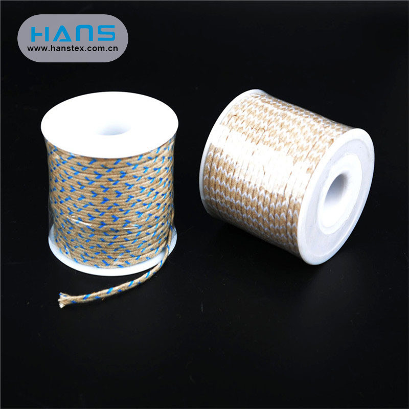 Hans New Well Designed Weave Jute Rope 6mm