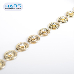 Hans Factory Manufacturer DIY Accessories Rhinestone Keychain