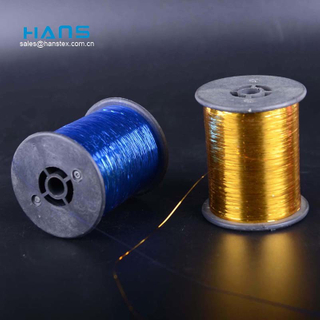 Hans High Quality OEM High Tenacity M Type Metallic Yarn