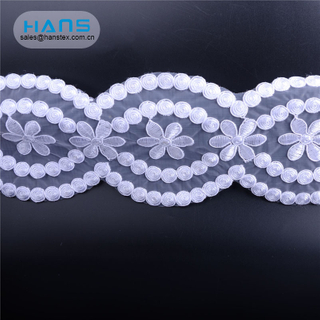Hans Hot Selling Stylish Embroidery Lace Trim