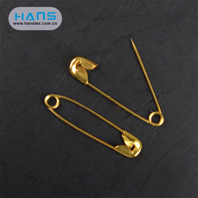 Hans Hot Sale Mini Metal Safety Pin