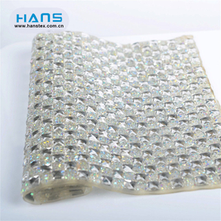 Hans New Fashion Shining Rhinestone Iron on Sheets