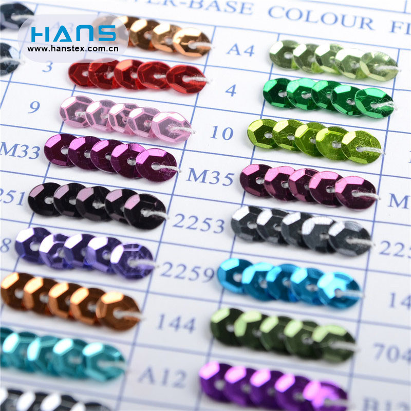 Hans High Quality Shining Sequin Film