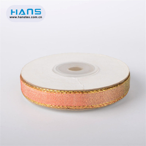 Hans Amazon Top Seller Fashion Design Metallic Ribbon
