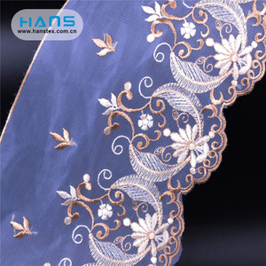 Hans Free Design Professional Design Tulle Lace Fabric