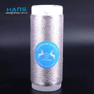 Hans Cheap Promotional Wholesale Bright Color Mh Type Real Gold Thread