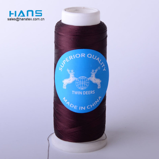 Hans China Manufacturer Wholesale Colorful Embroidery Thread