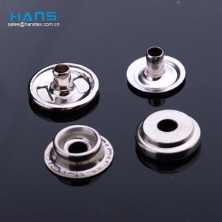 Hans Eco Custom Made Clothing Metal Snaps for Clothing
