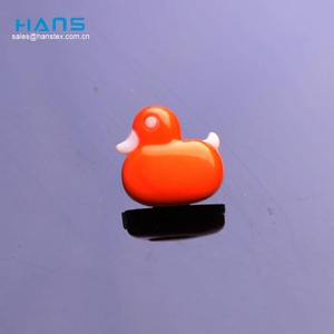Hans Cheap Wholesale Custom Colored Plastic Animal Shape Buttons