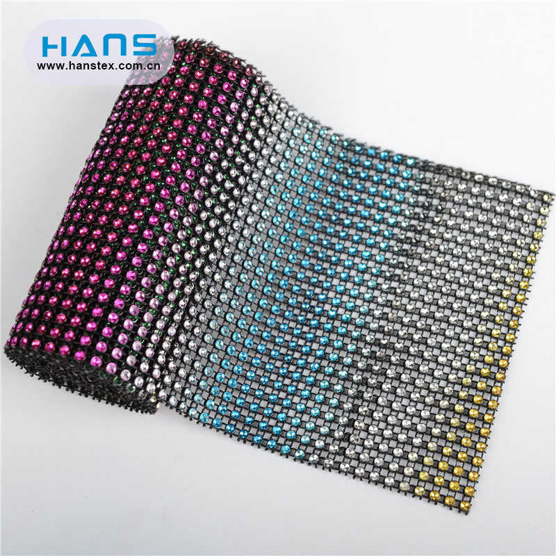 Hans Promotion Cheap Price DIY Accessories Applique Rhinestone