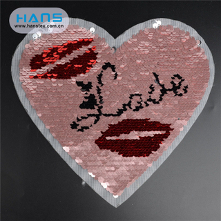 Hans Manufacturer OEM Various Sequin Applique Patch