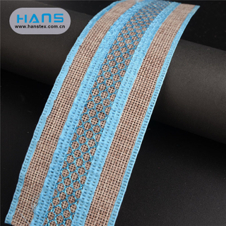 Hans China Supplier DIY Jute Tape