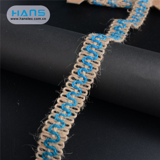 Hans China Supplier Party Burlap Ribbon