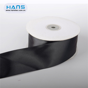 Hans 2019 Hot Sale Garment Accessories Two Color Satin Ribbon