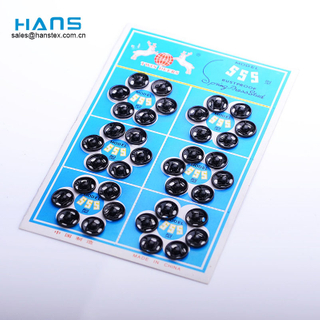 Hans Top Quality Custom Colored Press Stud Buttons