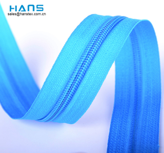 Hans Made in China High Strength Zipper in Rolls