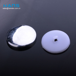 Hans Factory Directly Sell Sewing Aluminum Cover Button